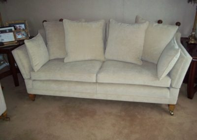 Knoll Drop Arm Sofa from a multiyork three piece suite Restored by Richard Bull Upholstery