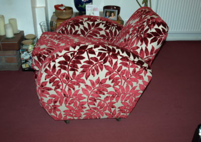 1920s Art Deco Chair Restored by Richard Bull Upholstery