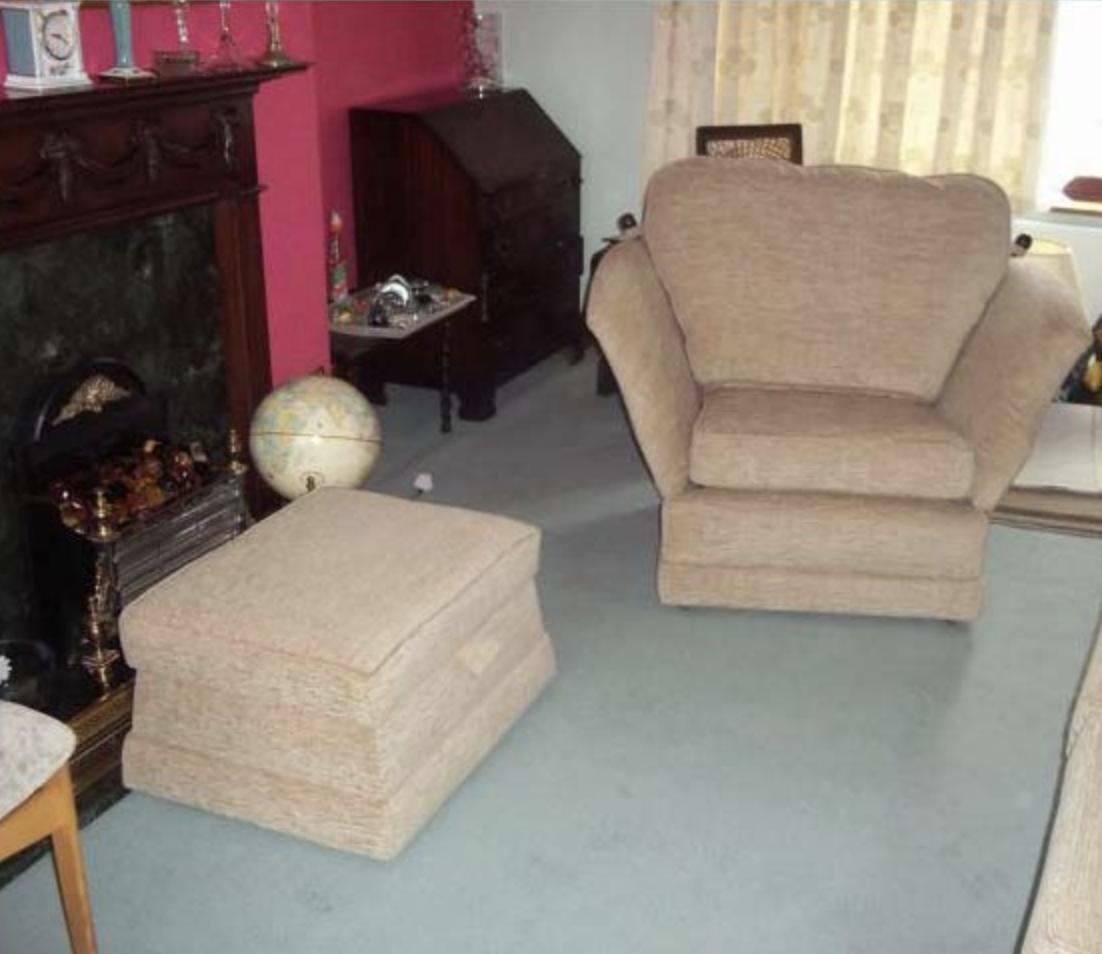 Dansk Furniture expertly re-upholstered