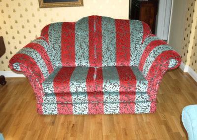 ssex Furniture Sandringham Reupholstery Project