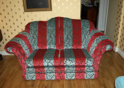 Essex Furniture Sandringham design restored by Richard Bull Upholstery